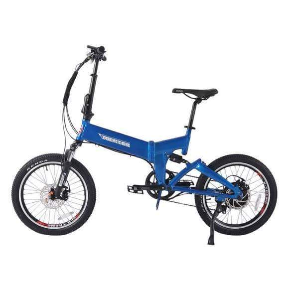X-Treme Electric Bikes One Size / Blue X-Treme E-Rider 48V Mini Folding eBike
