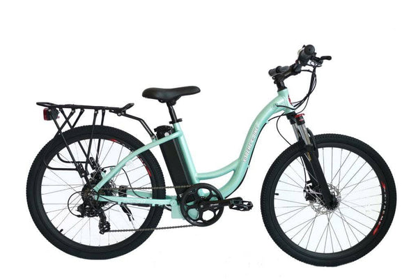 X-Treme Electric Bikes One Size / Mint Green X-Treme TC-36 36V Step Through Mountain Commuter eBike
