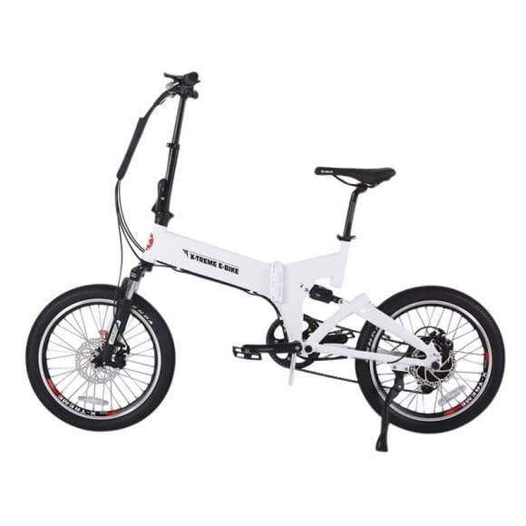 X-Treme Electric Bikes One Size / White X-Treme E-Rider 48V Mini Folding eBike