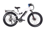 X-Treme Electric Bikes One Size / White X-Treme Rocky Road 48V 17 aH 500W Fat Tire Full Suspension eBike