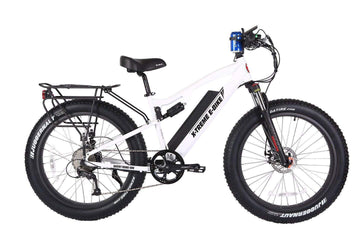 X-Treme Rocky Road 48V 500W Fat Tire Full Suspension eBike