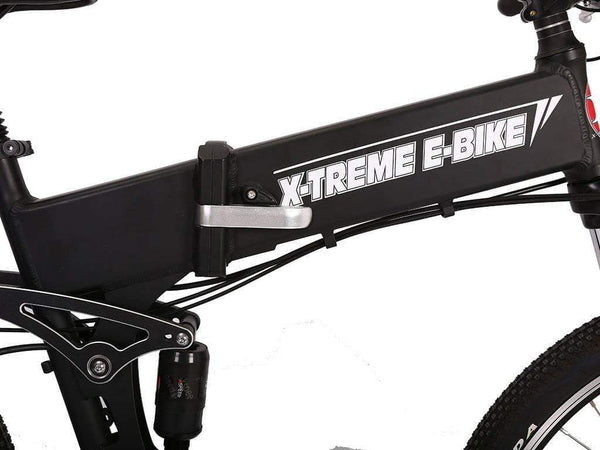 X-Treme Electric Bikes X-Treme Baja 48V Folding Full Suspension Mountain eBike