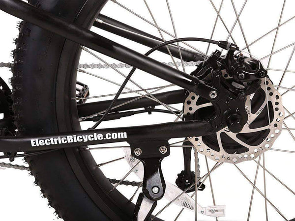 X-Treme Electric Bikes X-Treme Rocky Road 48V 17 aH 500W Fat Tire Full Suspension eBike