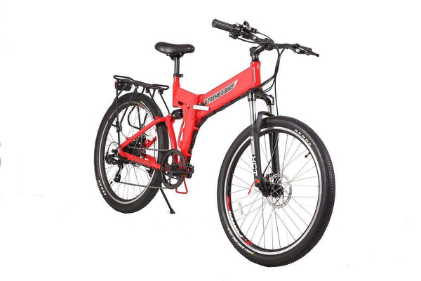 X-Treme Electric Bikes X-Treme X-Cursion Elite Max 36V Folding Full Suspension Mountain eBike