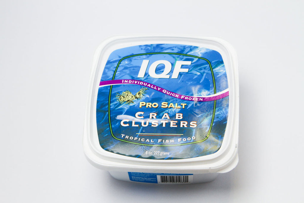 Crab Clusters Individually Quick Frozen