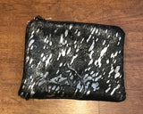 Cowhide clutches