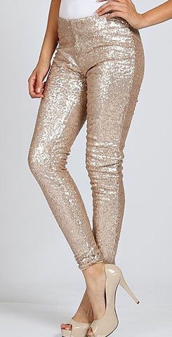 London sequin pants