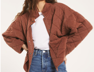 WhiskeyRust Quilted Jacket