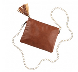Leather (vegan) Crossbody Purse