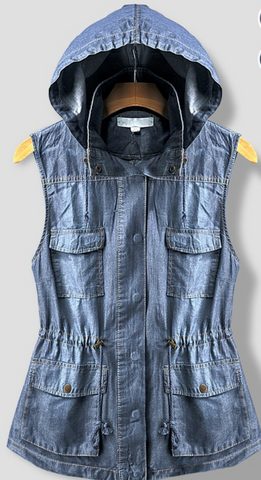 Billie denim vest