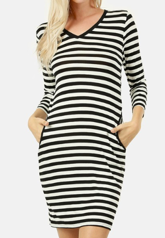 Mandy Stripe Dress