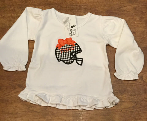 Girls Bow Helmet Tees
