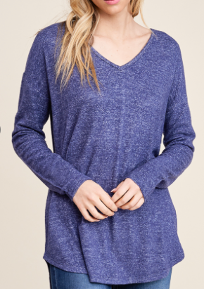 Bella Navy Blue Sweater