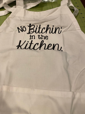 No Bitchin' Apron