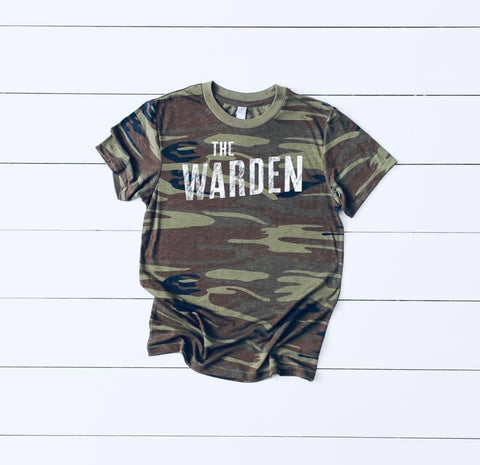 The Warden kids tee