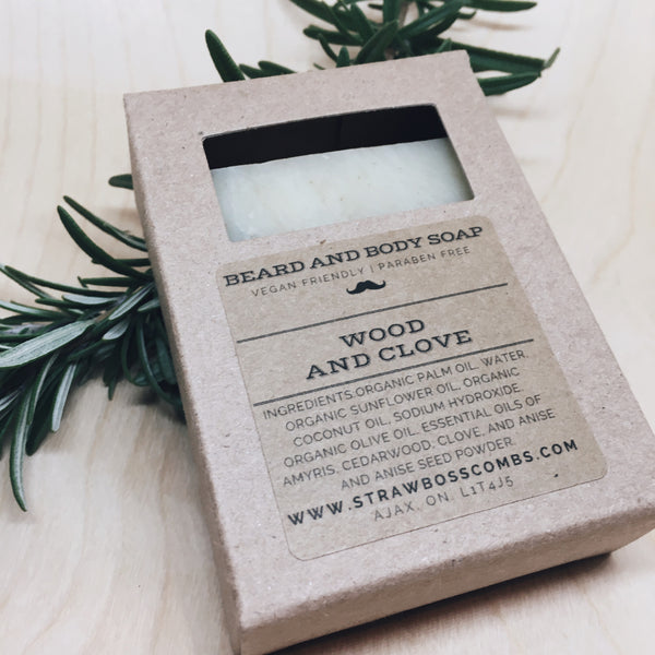 Beard & Body Soap - Wood and Clove