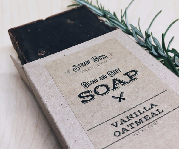 Beard & Body Soap - Vanilla Oatmeal