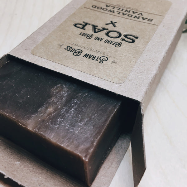 Beard & Body Soap - Sandalwood Vanilla