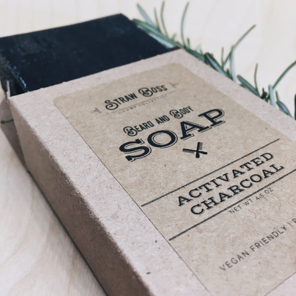 Beard & Body Soap - Activated Charcoal