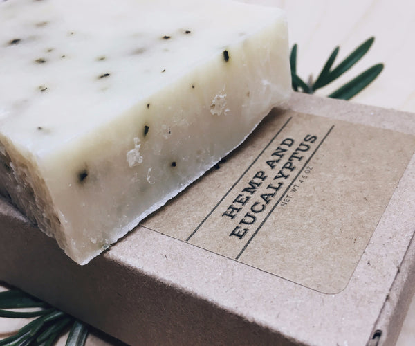 Beard & Body Soap - Hemp and Eucalyptus