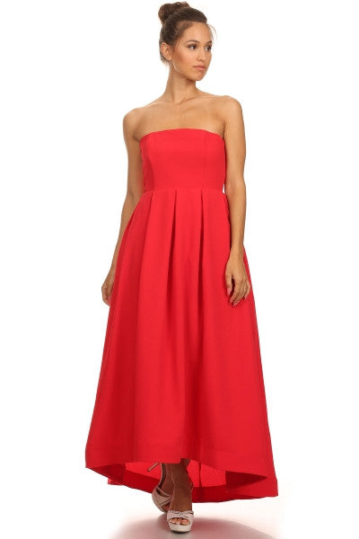 Cocktail Prom Red Dress - Prom And Bridal Dress House