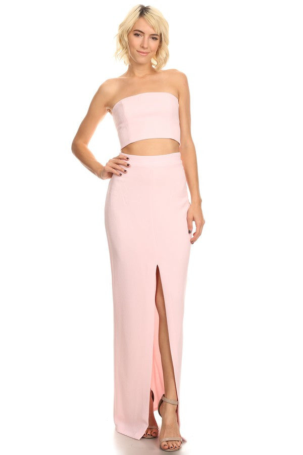 Two Pieces Prom Cocktail Dress