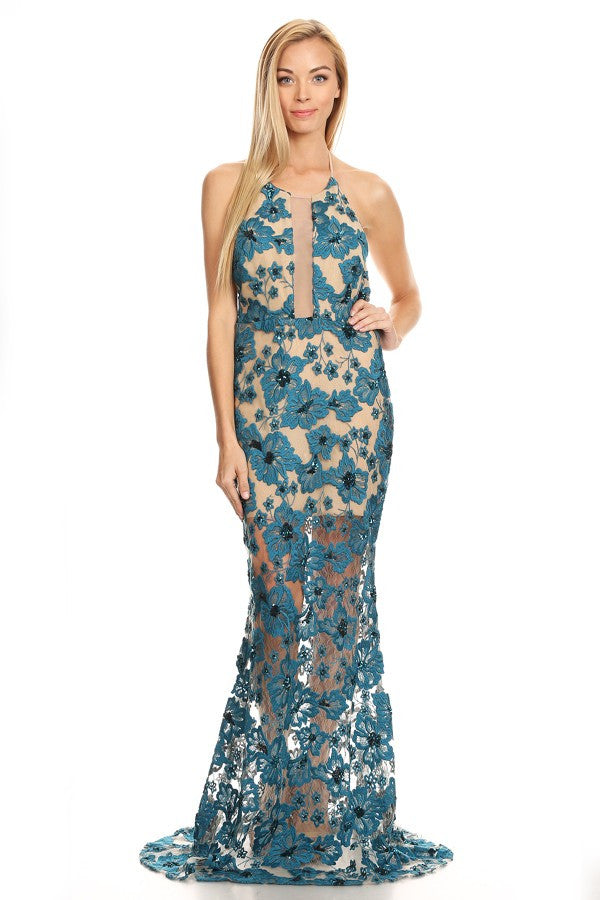 Prom Evening Cocktail lace Dress - Prom And Bridal Dress House