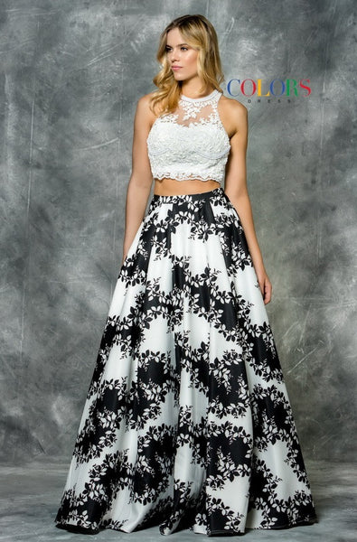 Pieces Lace and Mikado Dress - Prom And Bridal Dress House