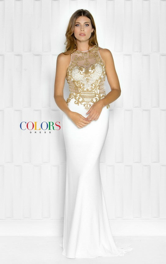 Halter Neck Jersey Prom Evening Long Dress - Prom And Bridal Dress House