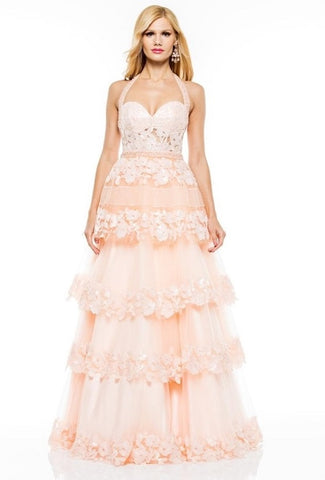 Lace Evening Dress - Prom And Bridal Dress House
