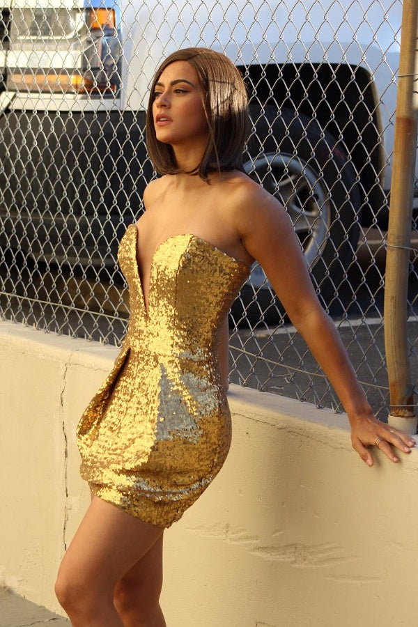 Gold Goddess Dress - Prom And Bridal Dress House