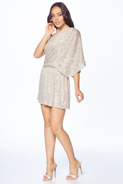 One Shoulder Tunic Dress