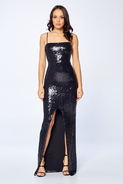 Gimme the Glitter Long Dress - Prom And Bridal Dress House