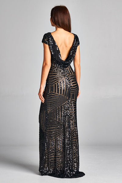 Sequin Maxi Dress - Prom And Bridal Dress House