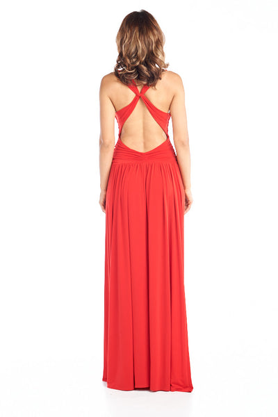 AG Studio Forevermore Red Dress - Prom And Bridal Dress House