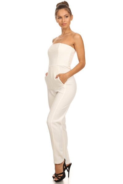 Cocktail Stretch Jumpsuit - Prom And Bridal Dress House