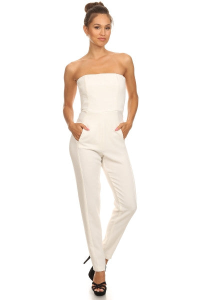 Cocktail Stretch Jumpsuit
