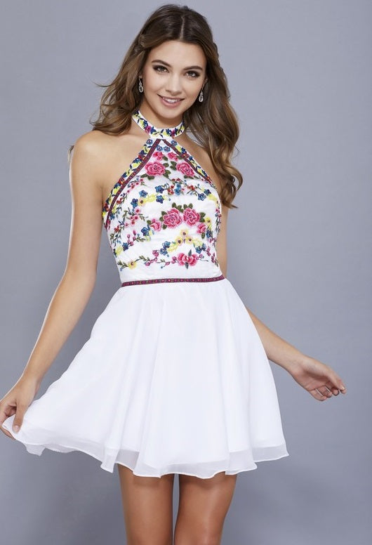 Short Halter Cocktail Dress - Prom And Bridal Dress House