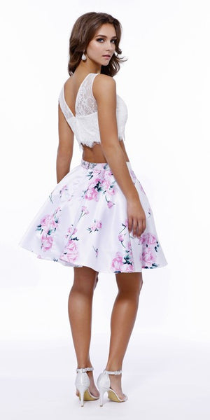 Two Pieces Prom Cocktail Dress - Prom And Bridal Dress House