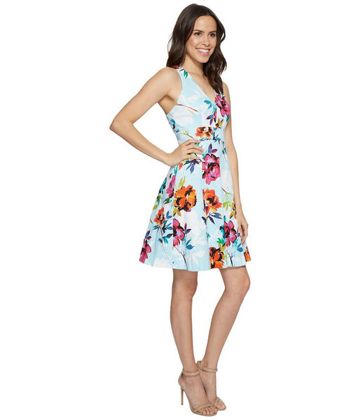 Adrianna Papell Girls Like You Floral Print Dress - Prom And Bridal Dress House