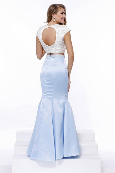 Two Pieces Long Prom Dress - Prom And Bridal Dress House