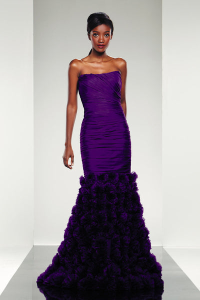 Theia Evening Long Dress