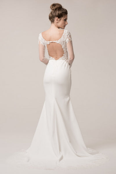 Beautiful Backless Wedding Dress - Prom And Bridal Dress House