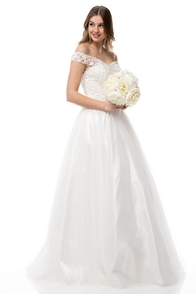 Precious Sweetheart Neck Wedding Dress - Prom And Bridal Dress House