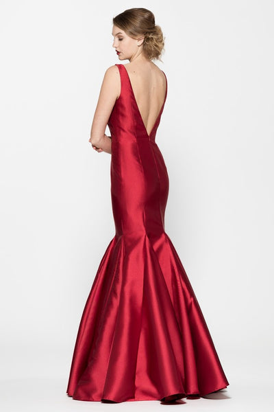 Sleeveless Mermaid Backless Evening Dress - Prom And Bridal Dress House