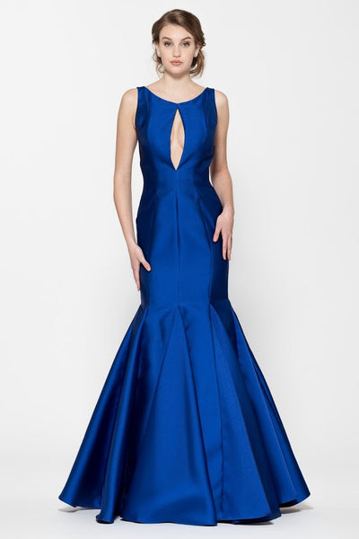 Sleeveless Mermaid Backless Evening Dress
