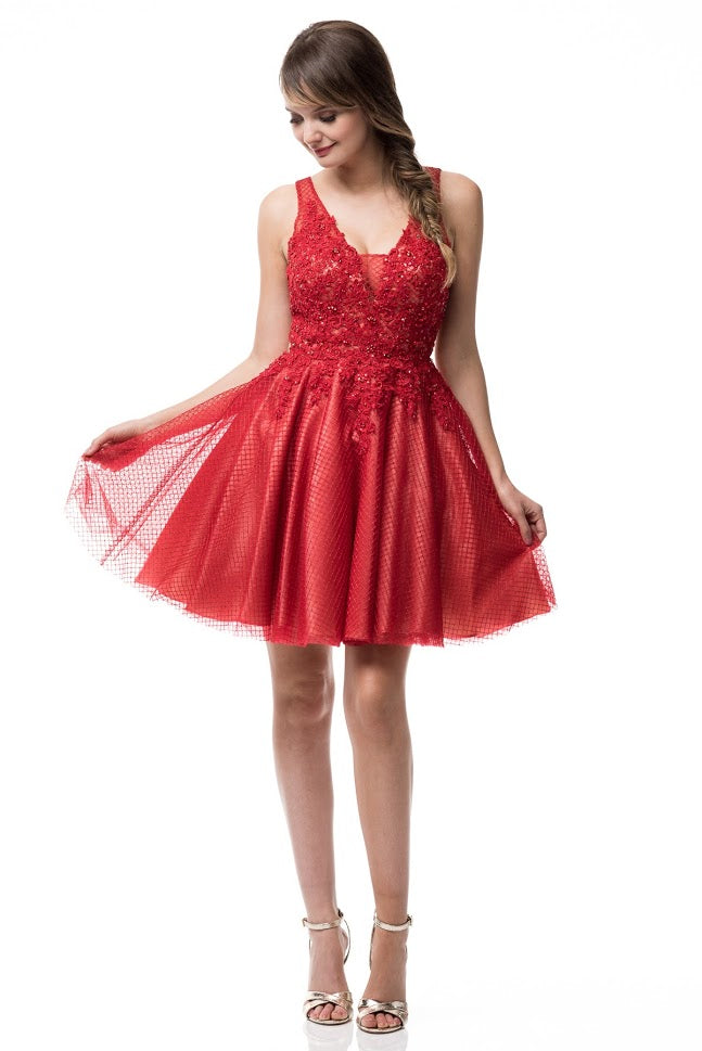 Short Cocktail Prom Dress - Prom And Bridal Dress House