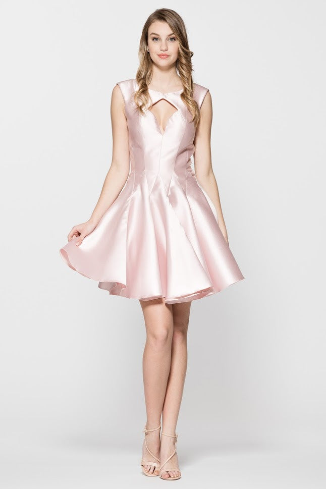Sleeveless Cocktail Short Dress - Prom And Bridal Dress House