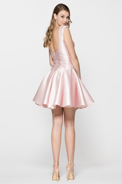 Sleeveless Cocktail Short Dress