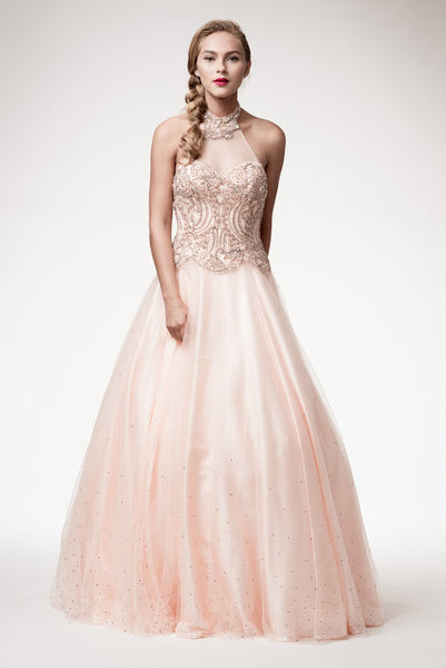 Long Prom Empire Waist Dress - Prom And Bridal Dress House